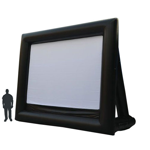 Inflatable Outdoor Screen, Front