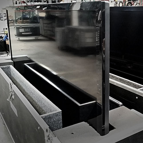 Large Monitors in Cases