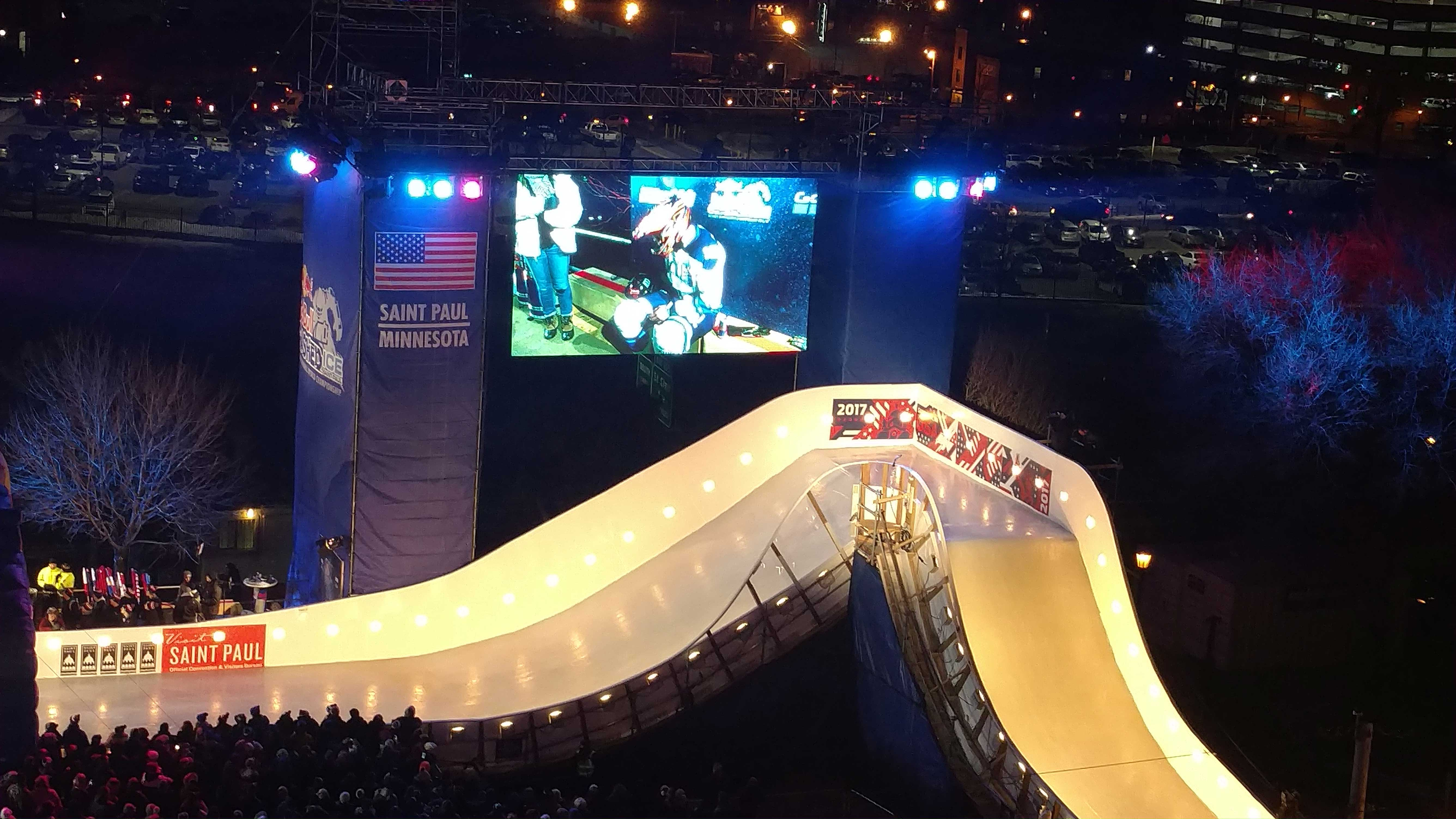 Crashed Ice Event in St Paul